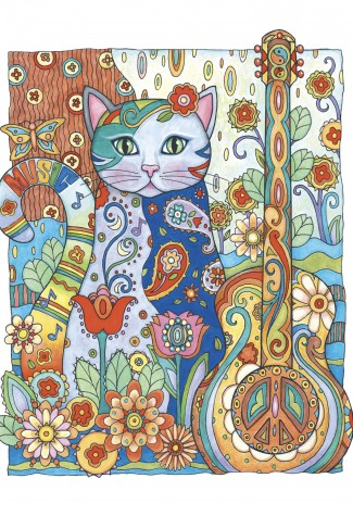 Колоритни котки - Колоритания INK